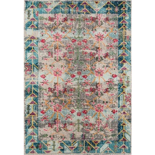 "Contemporary Momeni Casa Polypropylene Multi Area Rug - 3'11"" X 5'7"" For Sale"