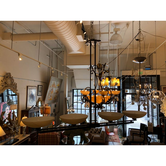 Hubbardton Forge Trestle 4-Light Pendant Chandelier For Sale - Image 4 of 12