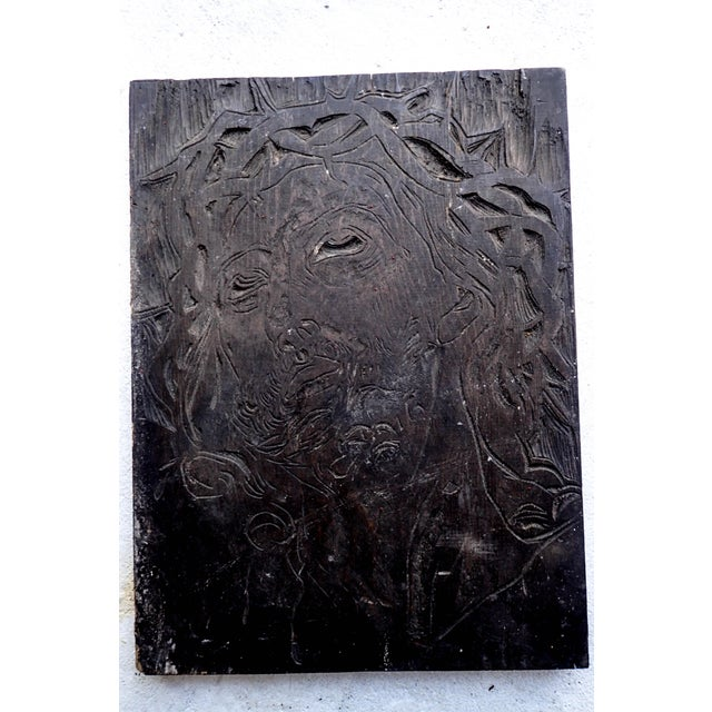 Jesus Original Spiritual Devotional Wood Carving Original by Sante Graziani, Listed Artist. Sante Graziani (1920-1981)...