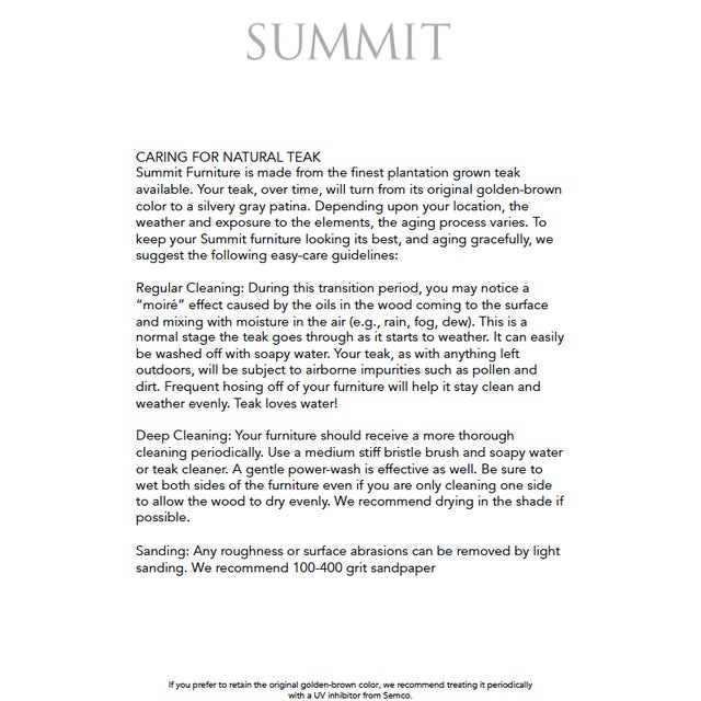 Summit Furniture Sundeck Sofa For Sale - Image 4 of 5