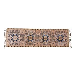 Vintage Kurdish Runner Rug - 3′8″ × 12′2″