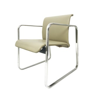 Peter Protzman for Herman Miller Chrome Frame Chair For Sale