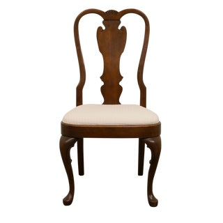 Late 20th Century Vintage Pennsylvania House Queen Anne Style Dining Chair For Sale