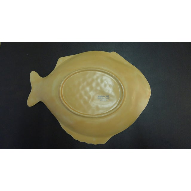 English Earthenware Fish Serving Plates - Set of 4 For Sale - Image 4 of 13