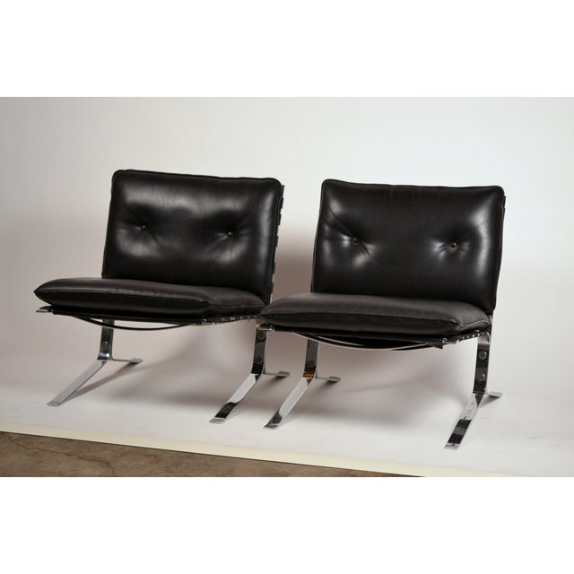 Original 'Joker' Lounge Chairs by Olivier Mourgue for Airborne - a Pair For Sale - Image 12 of 12