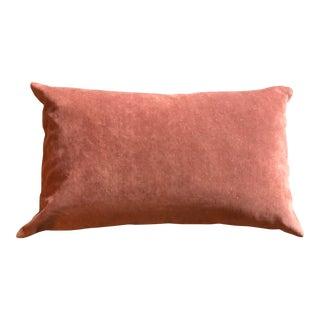 Pottery Barn Cotton Velvet Pillow Cover For Sale