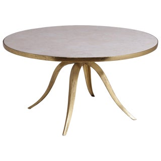 Artistca Home Crystal Stone Round Cocktail Table
