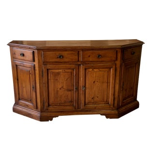 18th Century Tuscan Walnut Credenza For Sale