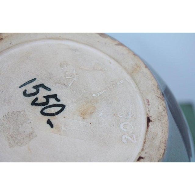 1950s Villeroy and Boch Bird Motif Vase For Sale - Image 5 of 6