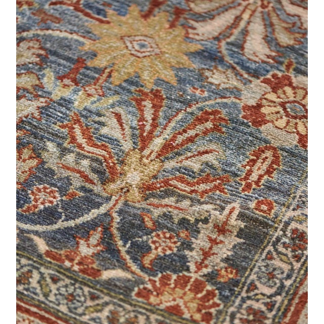 MANSOUR Late 19th Century Handwoven Malayer Wool Rug For Sale - Image 4 of 10