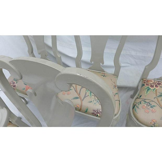Coastal Living Henredon Dining Chairs - S/6 For Sale - Image 7 of 9