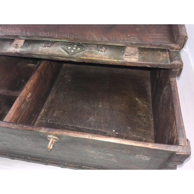 19 Century Oriental Cashbox For Sale - Image 9 of 10