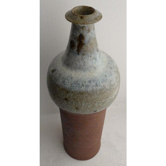 Finn Lynggaard Ceramic Vase by Finn Lynggaard For Sale - Image 4 of 7