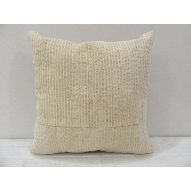 Handmade Vintage Turkish Kilim Pillow Cover For Sale - Image 4 of 4