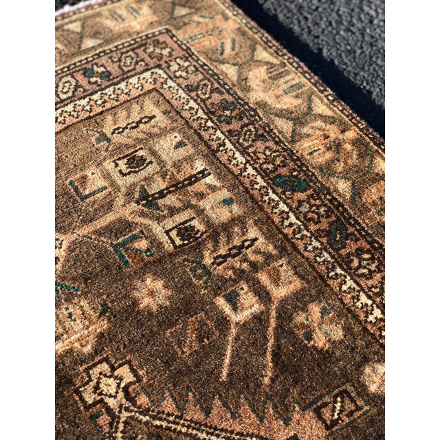 1950s Vintage Persian Sarab Runner - 3′1″ × 10′6″ For Sale - Image 11 of 13