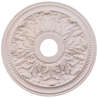 """Small Acanthus"" Plaster Ceiling Medallions For Sale"