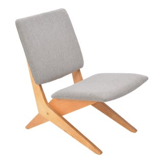 Stunning Fb18 Scissor Chair by Jan Van Grunsven for Ums Pastoe, 1959 For Sale