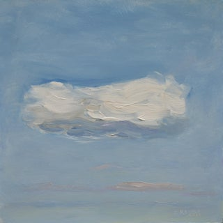 Cloud Study 'Float' Contemporary Painting by Stephen Remick For Sale
