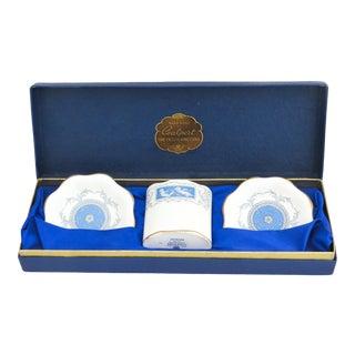 """Revelry"" Coalport Toothpick Holder & Case - Set of 4 For Sale"