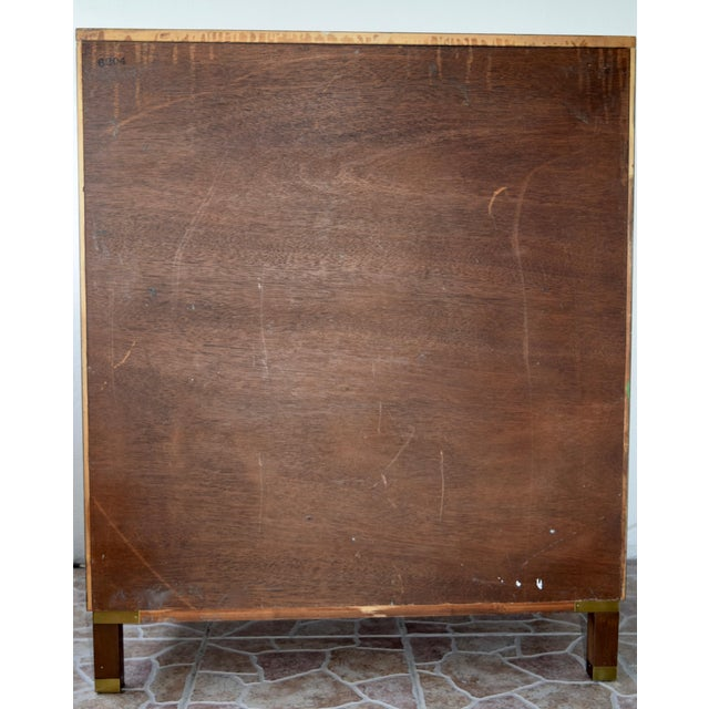 Gold Mid-Century Super Fine Baker Furniture Chest For Sale - Image 8 of 13