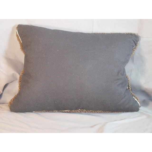 Traditional Bevilaqua Tiger Stripe Silk Velvet Pillow For Sale - Image 3 of 4