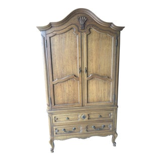 Mount Airy French Provincial Armoire For Sale