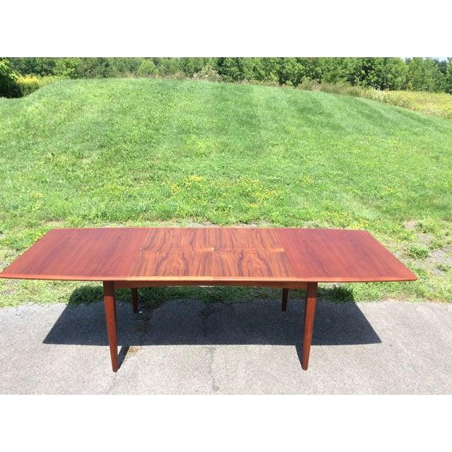 Refurbished Falster Teak Dining Table - Image 7 of 11