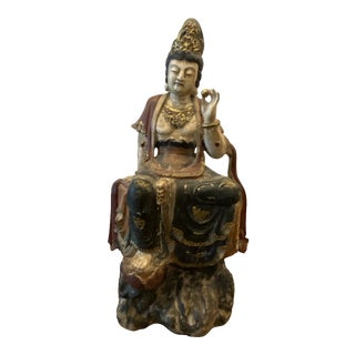 19th Century Chinese Quan Yin, Deity of Feng Shui For Sale