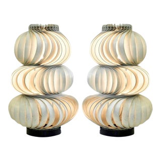 """1968 Olaf von Bohr """"Medusa"""" Lamps, Valenti Editions, Italy - a Pair For Sale"""