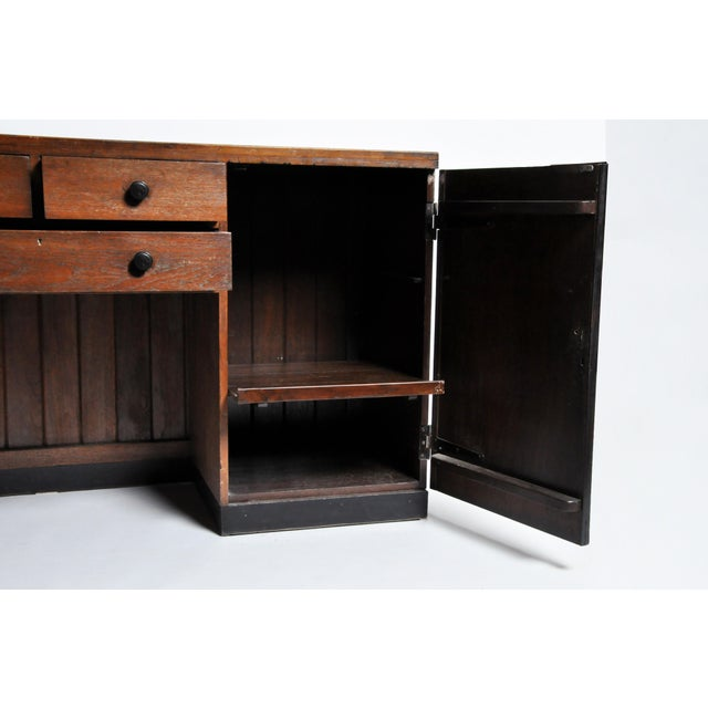 Black British Colonial Art Deco Sideboard For Sale - Image 8 of 11