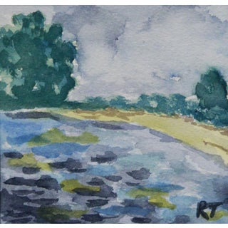 Old Orchard Beach Maine Watercolor