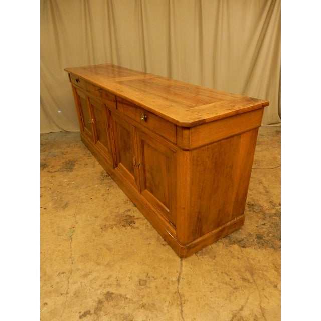 Early 19th Century 19th Century Walnut French Enfilade For Sale - Image 5 of 10