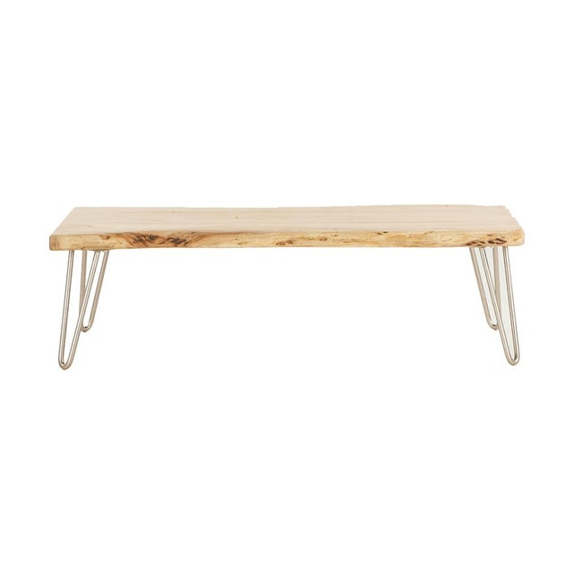 Grandby Acacia Live Edge Coffee Table - Image 2 of 5