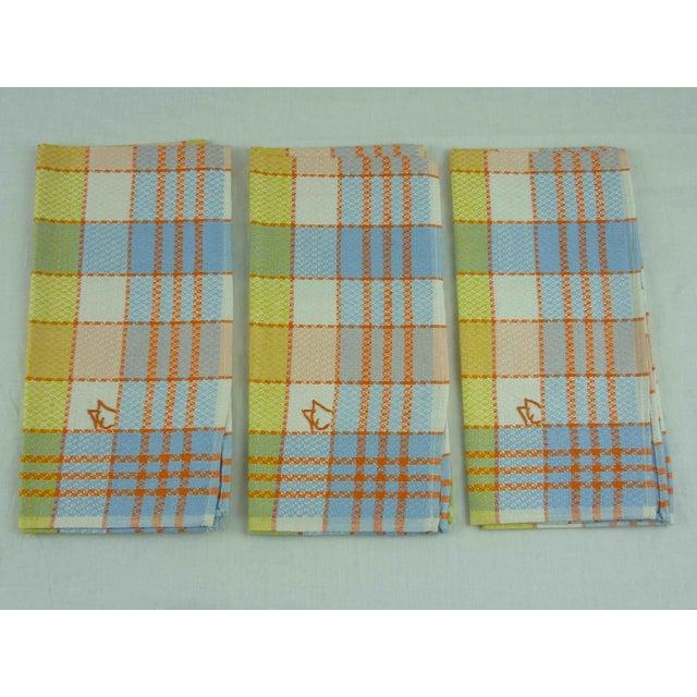 Multicolor Linen Monogrammed Towels - Set of 6 - Image 3 of 6