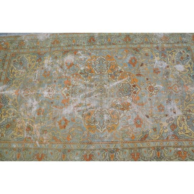 "Turkish Faded Floor Antique Rug - 54"" X 90"""
