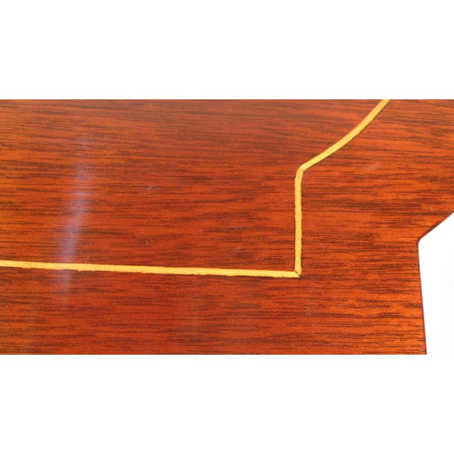 1960s Georgian Mahogany Nesting Tables - Set of 3 For Sale - Image 9 of 10