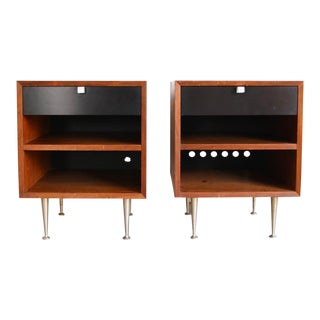 Mid-Century Modern George Nelson for Herman Miller Nightstands - a Pair For Sale