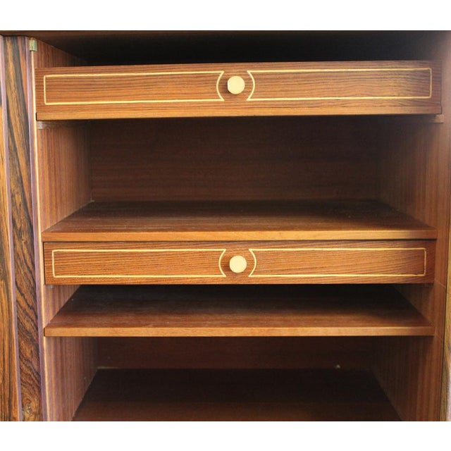 1950s Danish Modern Ew Bach for Sejling Skabe Rosewood Sideboard For Sale In Boston - Image 6 of 11