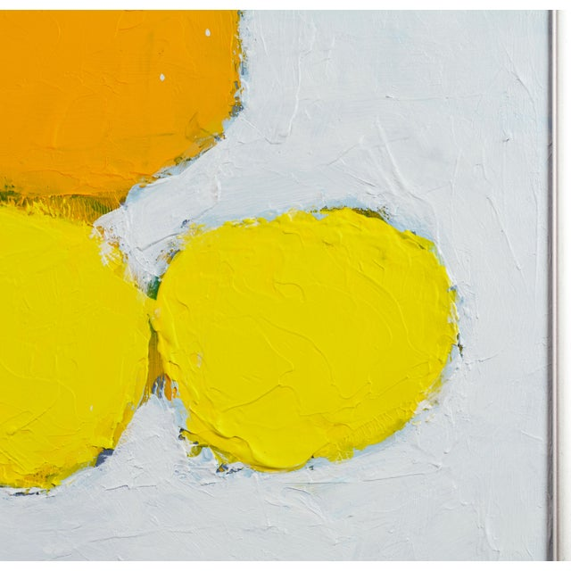 Early 21st Century 'Color Composition' Original Abstract Painting by Lars Hegelund For Sale - Image 5 of 11