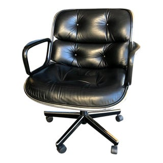 1980s Knoll Charles Pollock Executive Chair For Sale