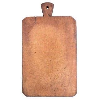 Early 20th Century French Wood Chopping Block For Sale