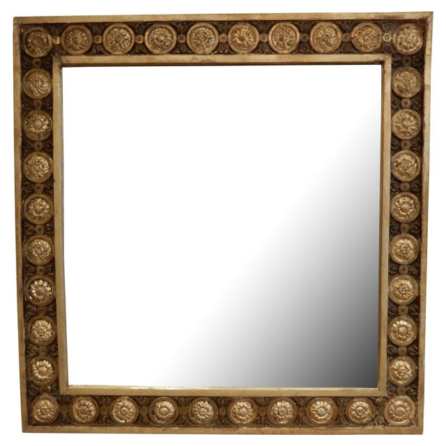 Early 19th.c. Italian Gold Leaf Mirror For Sale In New Orleans - Image 6 of 6