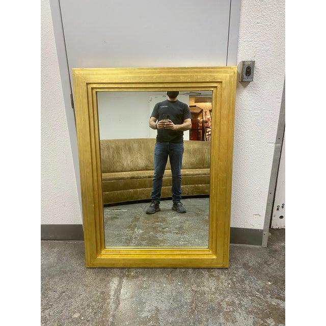 City C Studio Custom Gold Gilt Tiered Framed Mirror For Sale - Image 10 of 10