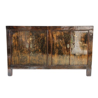 Lacquered Mongolian Sideboard