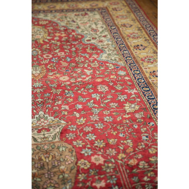 "Traditional Vintage Romanian Hereke Design Rug - 4'10"" X 7'6"" For Sale - Image 3 of 10"