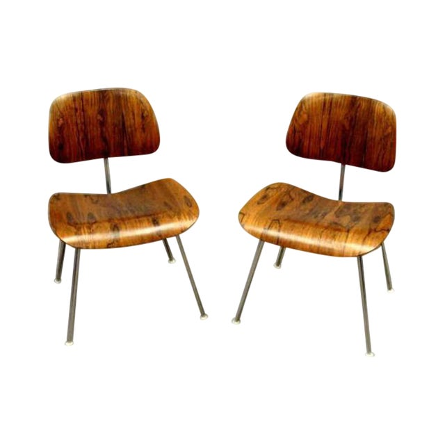 Eames DCM's Rosewood For Sale