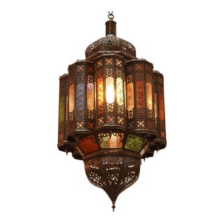 Moroccan Handcrafted Mamounia Light Fixture For Sale