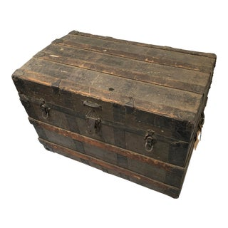 20th Century Traditional Edward Moyle Trunk For Sale