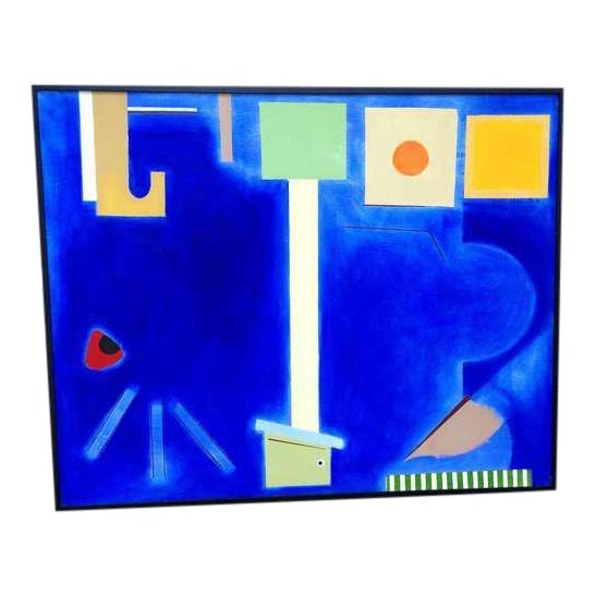 Abstract Painting by Doris Vlasik Hails For Sale
