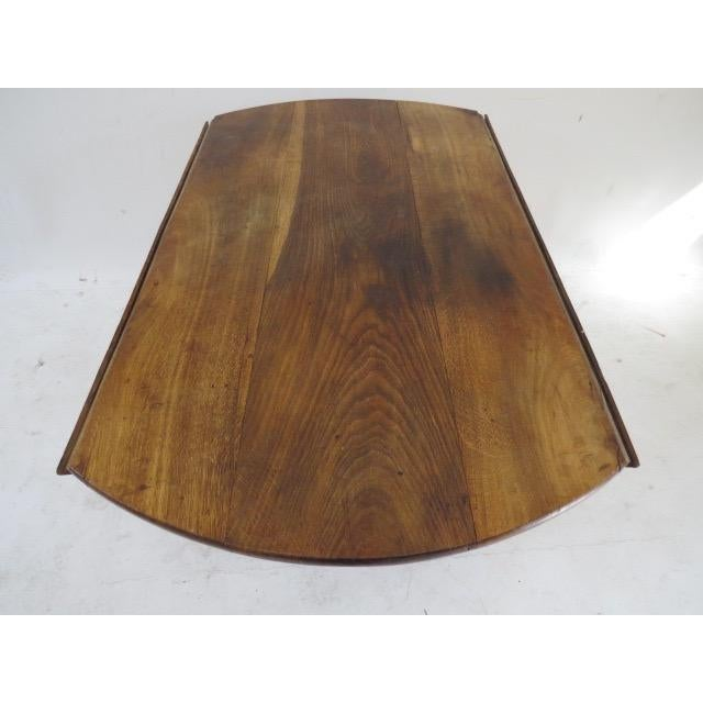 1900s Round Table with Flaps For Sale - Image 7 of 9